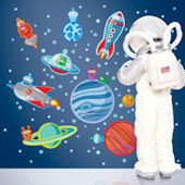 Wall Candy Happy Space Wall Decals