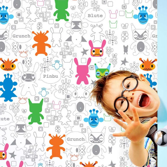 French Bull Monster Mashup Peel & Stick Wallpaper - Wall Sticker Outlet