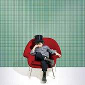 WallCandy Plaid Green Peel and Stick Wallpaper
