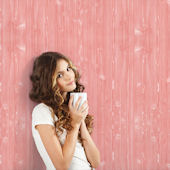 WallCandy Wood Pink Peel and Stick Wallpaper
