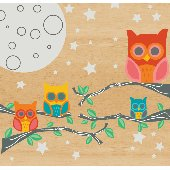 Wall Candy Arts Nightly News Owl Wall Decor