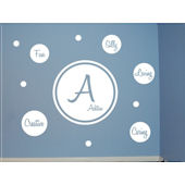 Personality Dots Kit Peel and Stick Wall Mural