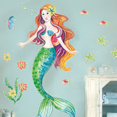 Mermaid Giant Wall Decals