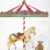 Carousel Giant Wall Decals