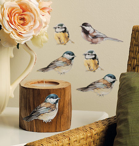 Wallies Chickadees Cutouts