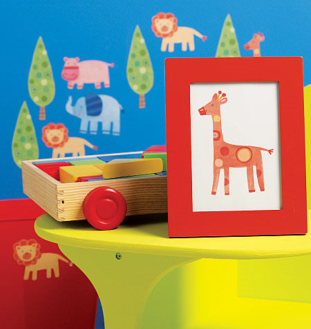 Wallies Zoo Pals Cutouts SALE - Wall Sticker Outlet