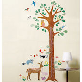 Wallies Woodland Growth Chart Stickers