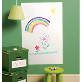 Wallies Big Dry Erase Wall Sticker