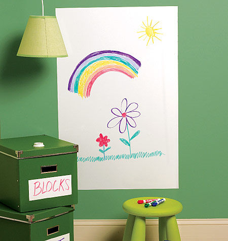 Wallies Big Dry Erase Wall Sticker - Wall Sticker Outlet