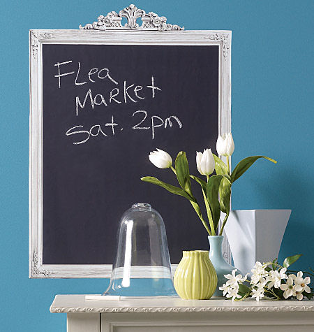 Wallies Framed Big Chalkboard Wall Sticker - Wall Sticker Outlet