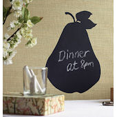 Wallies Pear Chalkboard Sticker