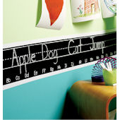 Wallies Chalkboarder Alphabet Wall Sticker