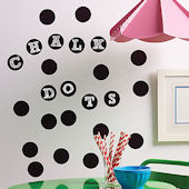 Chalkboard Dots Peel and Stick Decal