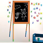 Chalkboard Easel Peel and Stick Decal