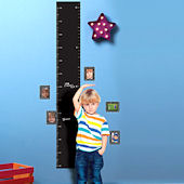 Chalkboard Growth Chart Peel and Stick Decal