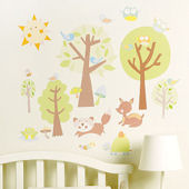 Animal Tales Peel and Stick Decals