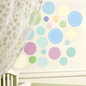 Baby Dots Peel and Stick Decals