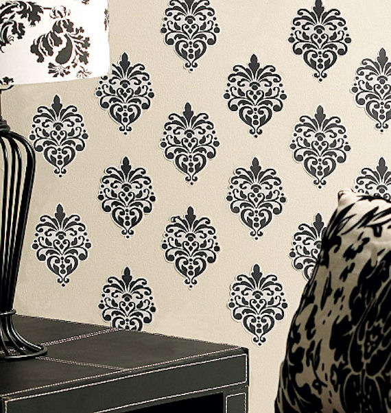 Wallies Beautiful Baroque Vinyl Peel and Stick - Wall Sticker Outlet