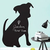 Wallies Puppy Chalkboard Wall Decal