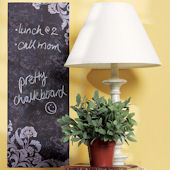 Frilly Chalkboard Decal