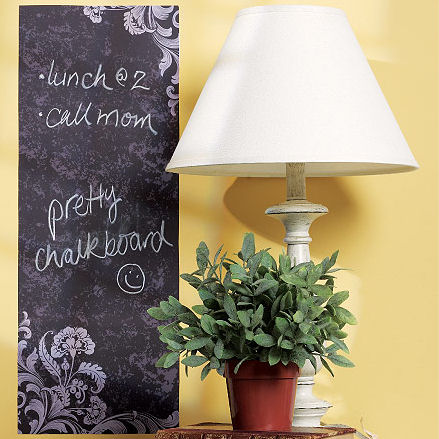 Frilly Chalkboard Decal - Wall Sticker Outlet