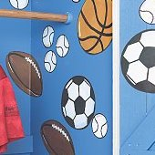 Wallies Sports Wall Mural