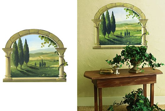 Wallies Tuscan Arch Wall Mural - Wall Sticker Outlet