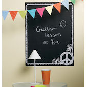 Wallies Peace Peel and Stick Chalkboard