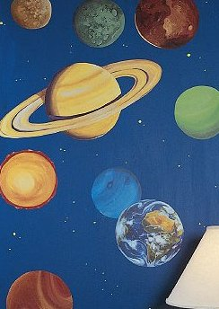 ... Outer E Theme Boys Bedroom E Wall Decal Stickers; Planet ... Part 76