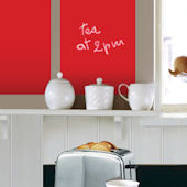 Red Chalkboard Decals 2 Sheets