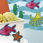 Wallies KP Kids Sea Creatures Cutouts