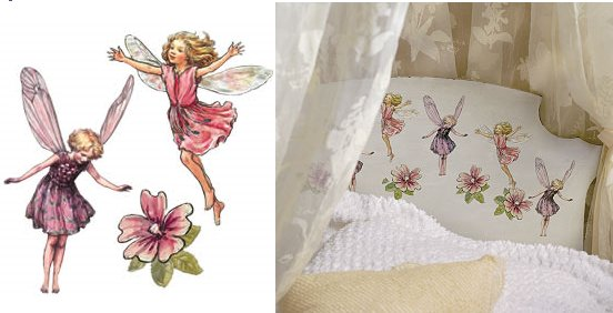 Wallies Enchanted Flower Fairies Cutouts - Kids Wall Decor Store