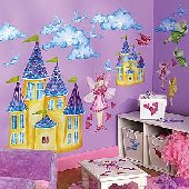 Wallies Fairyland Big Wall Mural