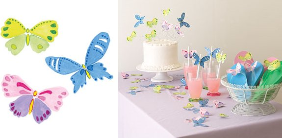 Wallies Mariposa Cutouts - Kids Wall Decor Store