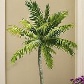 Wallies Palm Tree Big Wall Mural