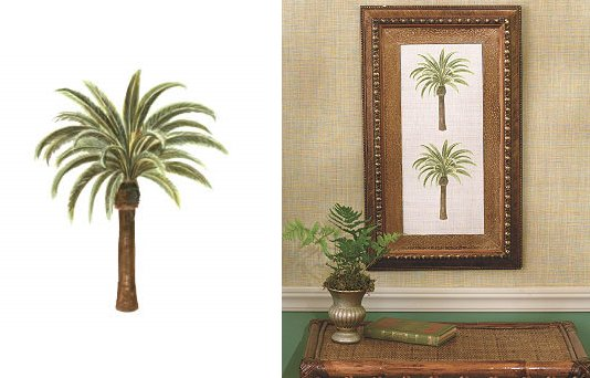 wallies palm tree cutouts - Palm Tree Decor