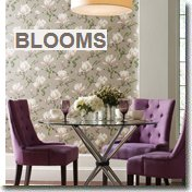 Blooms Wall Paper by York