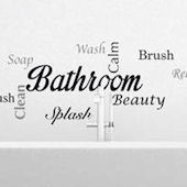 Bathroom Wall Sayings Wall Decals
