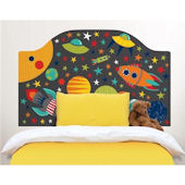 Outer Space Peel and Stick Headboard Decal