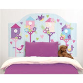 Chirping the Day  Away Peel Stick Headboard Decal