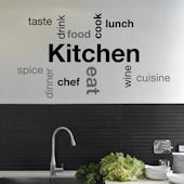 Kitchen Wall Sayings Wall Decals