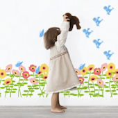 Wall Candy Arts Blossoms Wall Sticker Kit