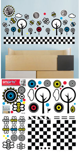 Wall Candy Arts Smarts Bees &Trees Decals SALE - Wall Sticker Outlet