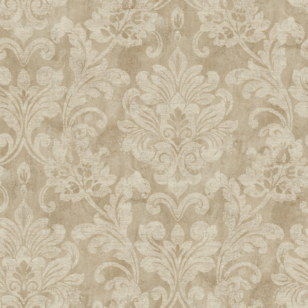 metallic gold sophisticated damask wallpaper