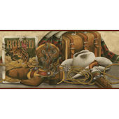 Western Still Life Border Tan