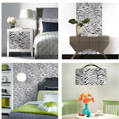Zebra Wall in a Box Decorating Kit SALE