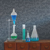 Aimee Wilder Love Molecules Chalk Wallpaper