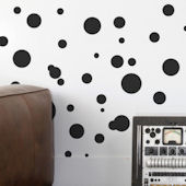 Aimee Wilder Space Dots Wallpaper