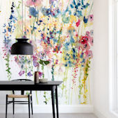 Minted Wildflowers Repositionable Wall Mural