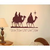 Wise Men Still Seek Him Wall Sticker Decal